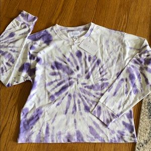 Pretty purple tie dye sweatshirt  🌸